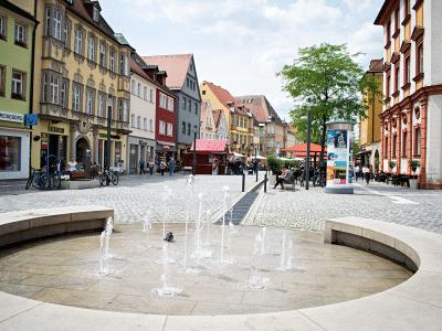Innenstadt - Brunnen am Ehrenhof