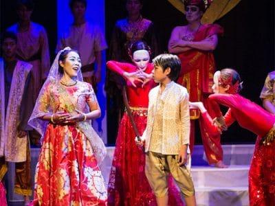 Szene einer Oper