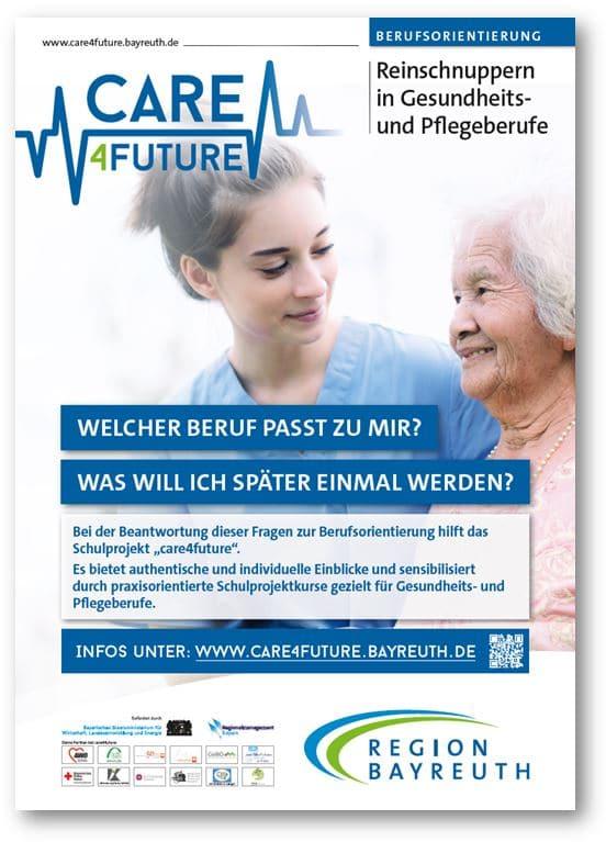 Poster zum Projekt care4future