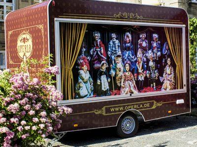 Das rollende Marionettentheater Operla