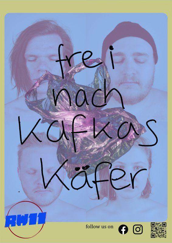 Flyer Frei nach Kafkas Käfer