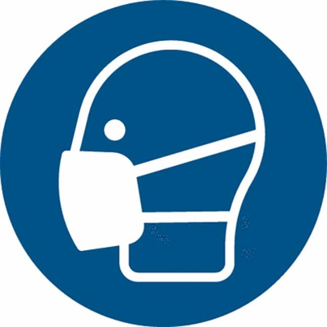 Zeichen, dass Maske getragen werden muss