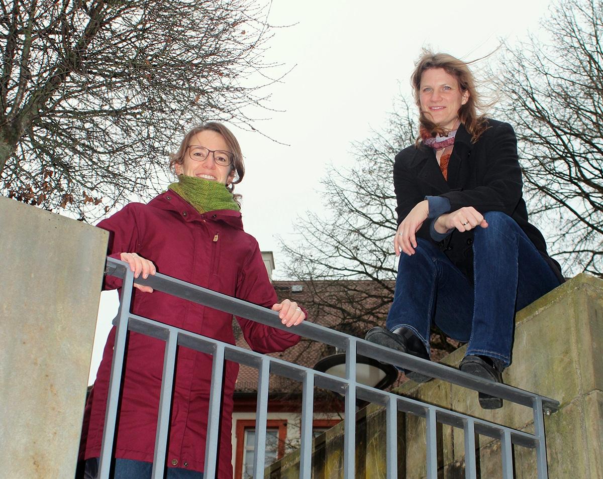 Jana Edlinger und Gesa Thomas.