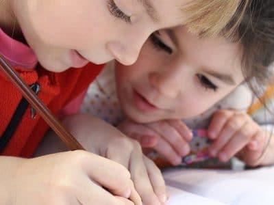 Schreibende Kinder