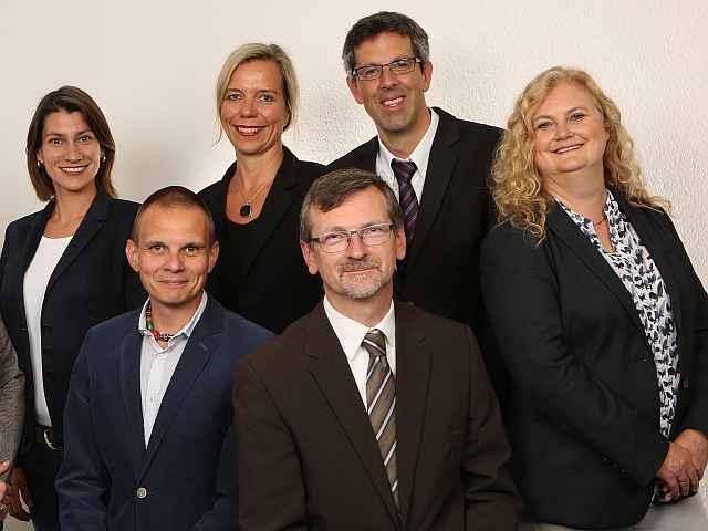 Teamfoto der Wirtschaftsförderung Bayreuth