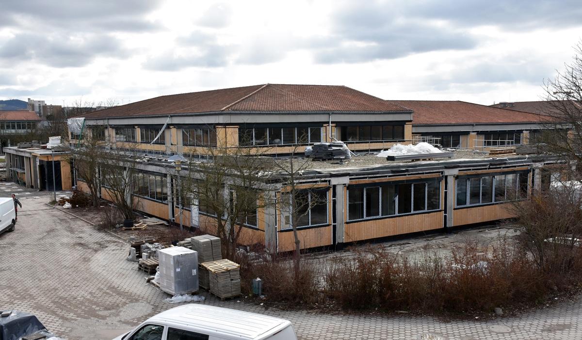 Baustelle Albert-Schweitzer-Schule