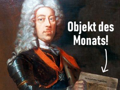 "Titelbild Rubrik ""Objekt des Monats"""