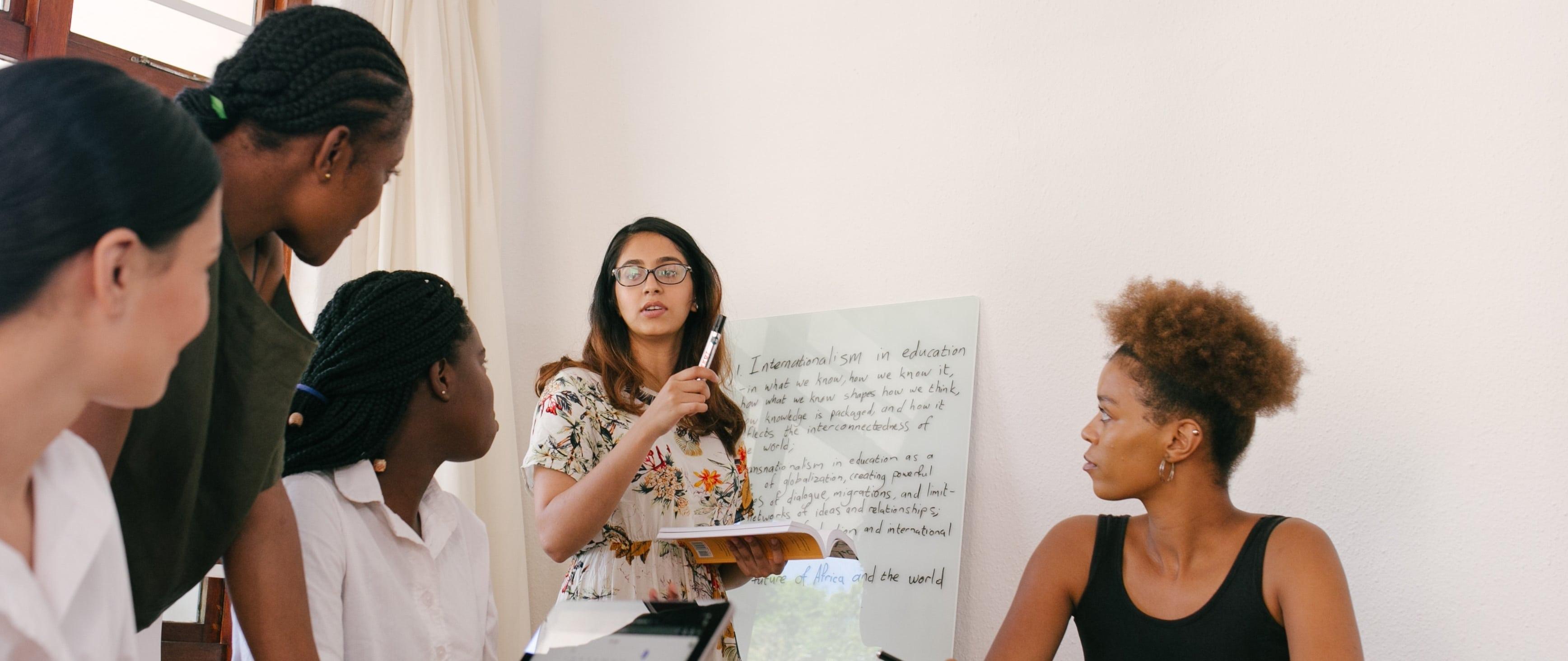 Workshop jungendlicher Studierender