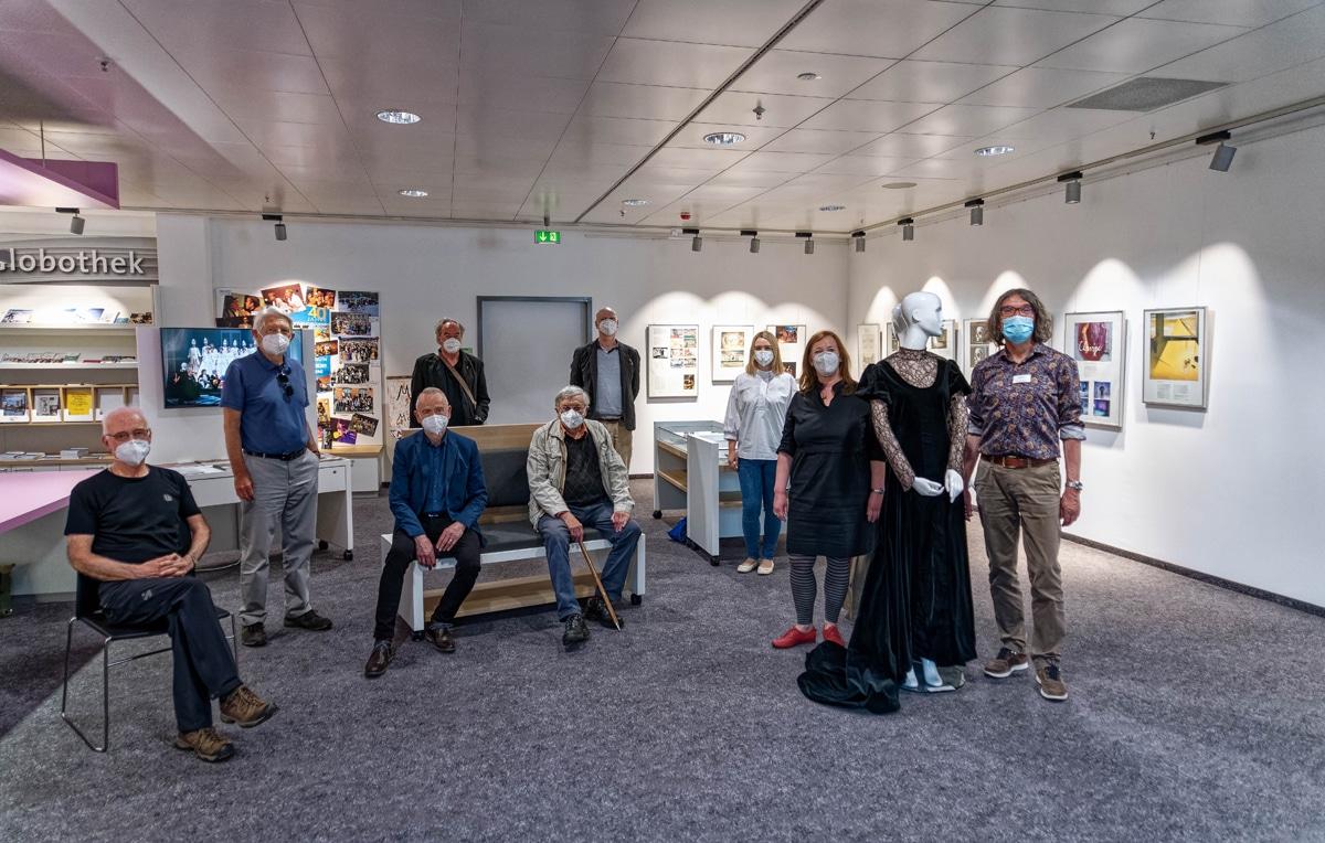 Gruppenfoto mit Vertretern der Studiobühne Bayreuth.