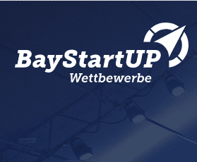 Logo zum BayStartUp Wettbewerb