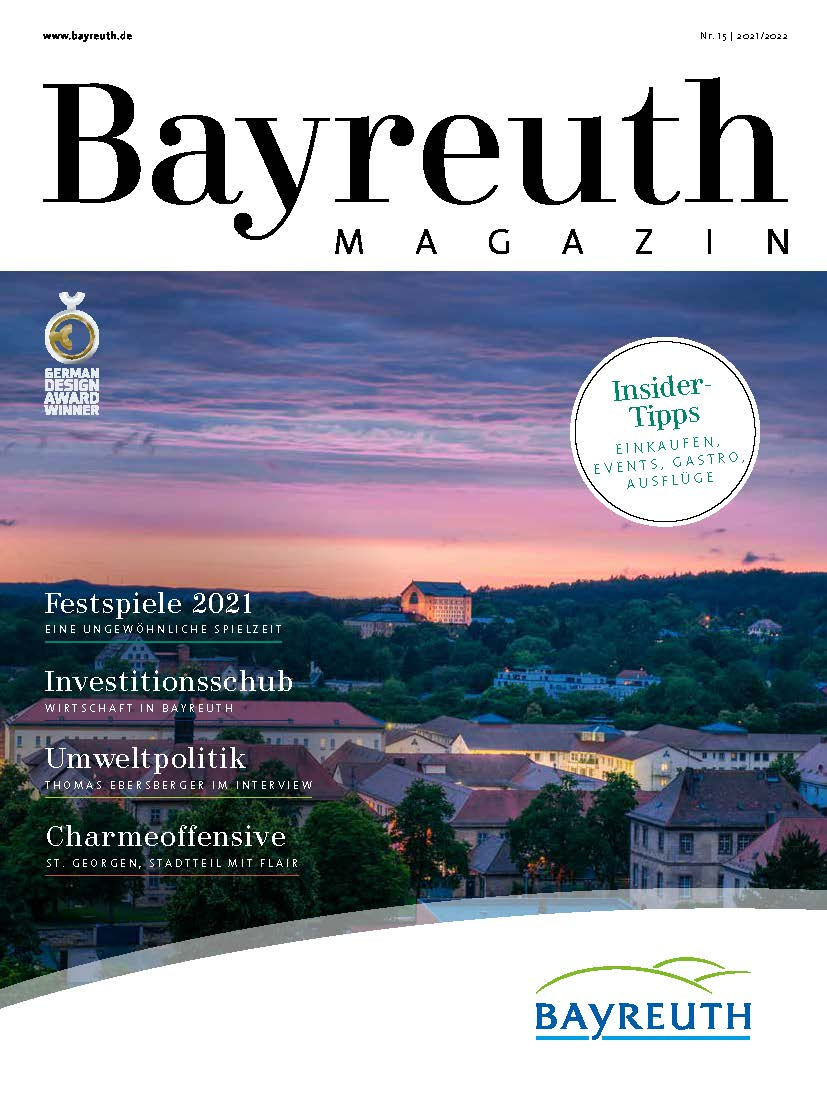 Cover des BAYREUTH Magazins 2021/22