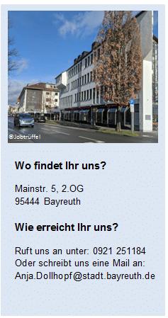 Adresse des StartUp Points in der Mainstraße 5