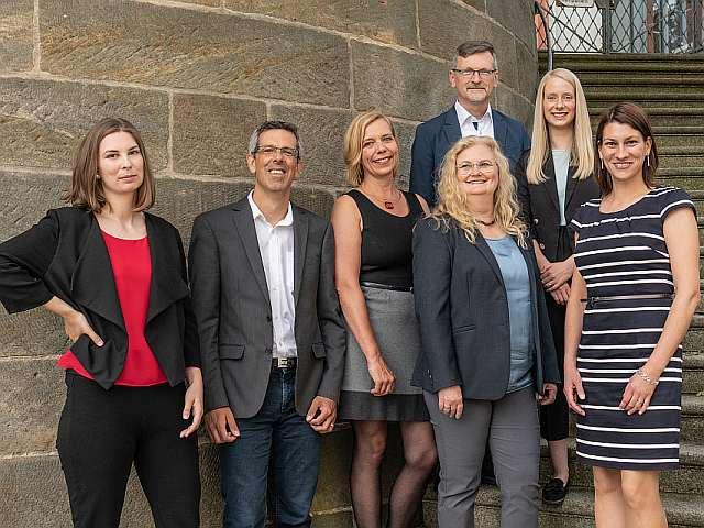 Team der Wirtschaftsförderung der Stadt Bayreuth