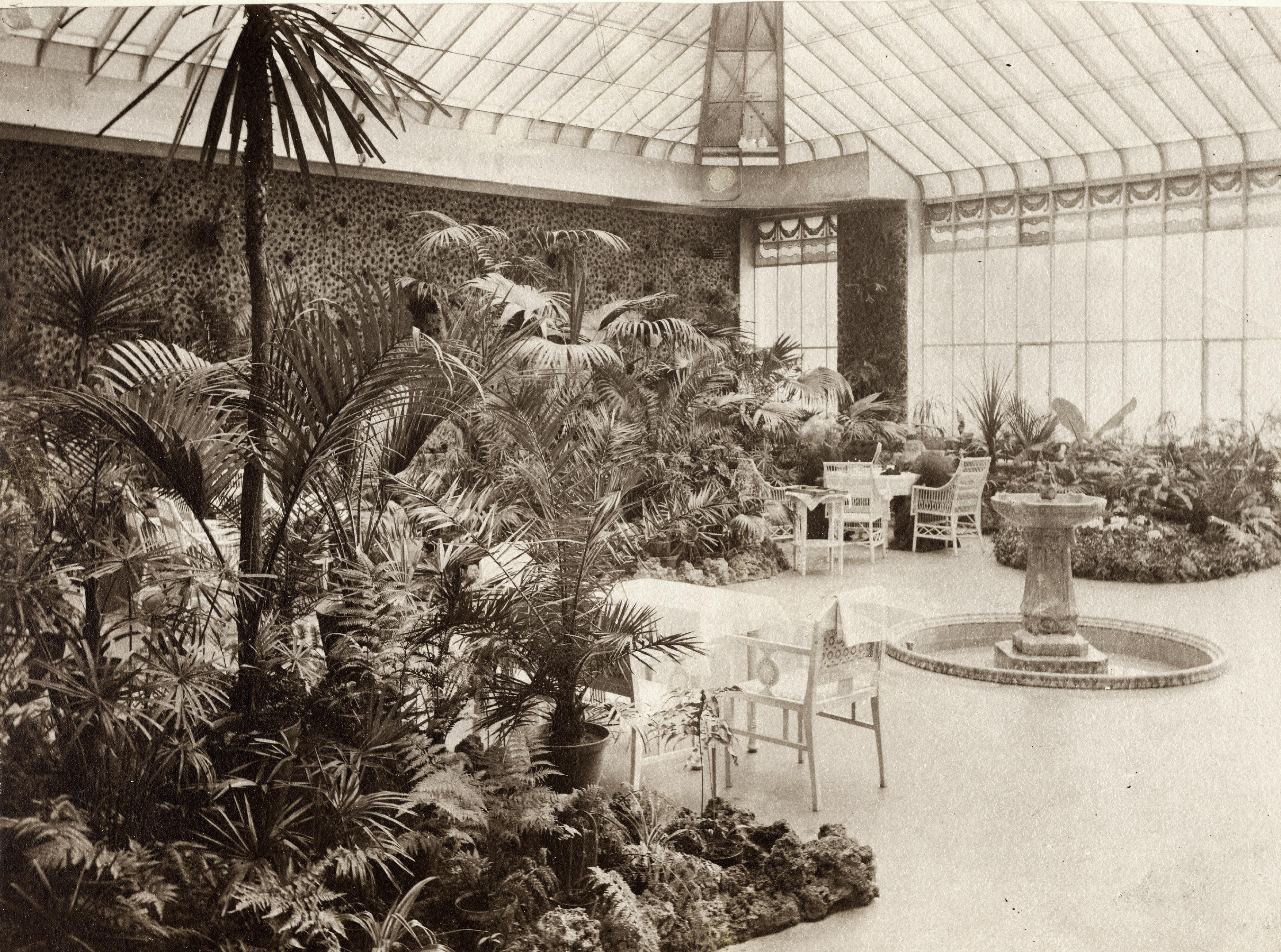 Foto des Wintergartens im Mainschloss