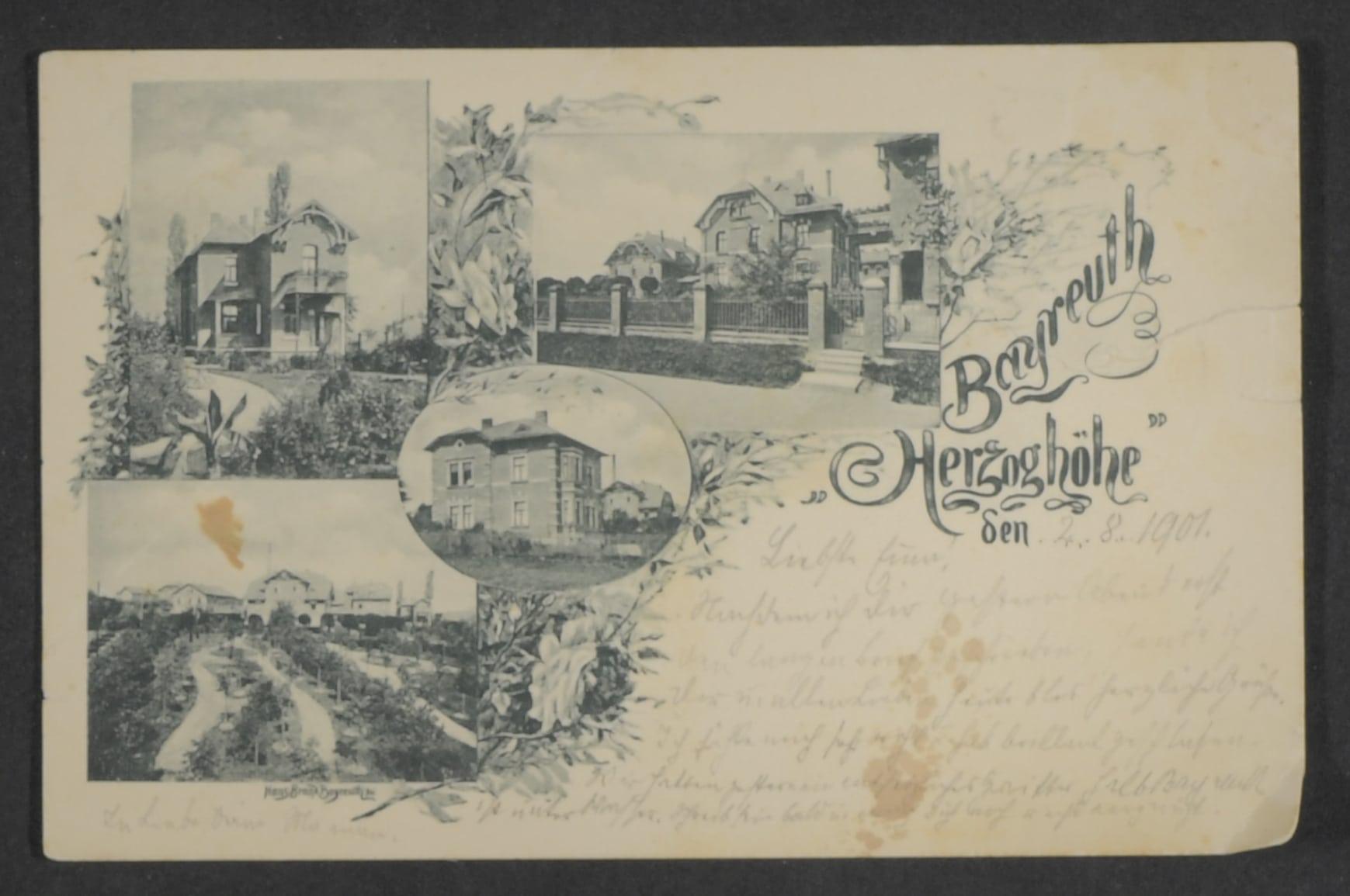 Postkarte Herzoghöhe