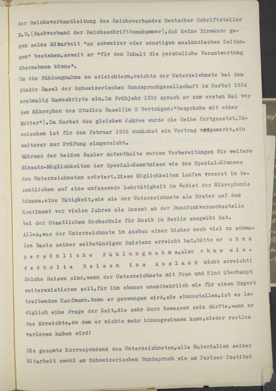 Brief, Seite 2
