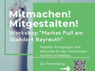 """Mitmachen. mitgestalten beim Workshop """"Market Pull - Impulse für den Innovationsstandort"""""""